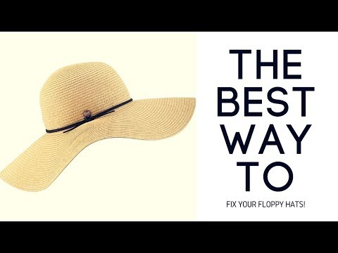 How To Fix Your Floppy Hats (EASY TUTORIAL)