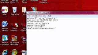 How to change y๐ur MineCraft server port number
