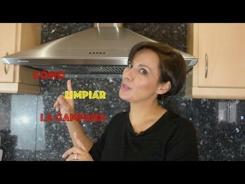 C mo limpiar la grasa de la campana de la cocina youtube - Como limpiar baldosas cocina ...