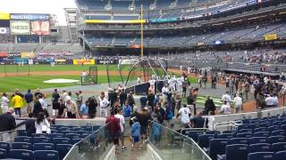 Yankees Old Timers Day 2015 Lou Piniella