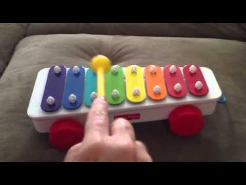 Xylophone xylophone chords for jingle bells : How to play jingle bells for fisher price xylophone - YouTube