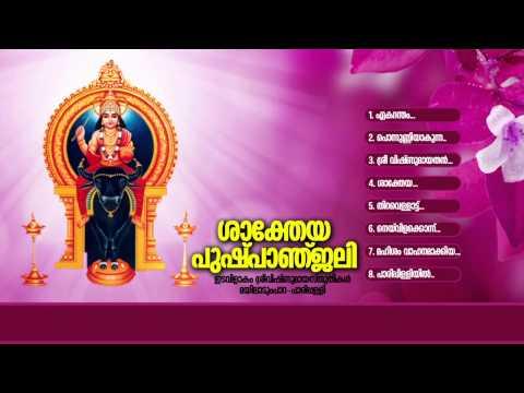 ശാക്തേയ പുഷ്പാഞ്ജലി   SAKTHEYA PUSHPANJALI   Hindu Devoitonal Songs Malayalam   Vishnumaya Songs