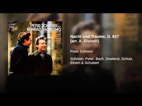 Nacht und Traume, D. 827 (arr. A. Diabelli)