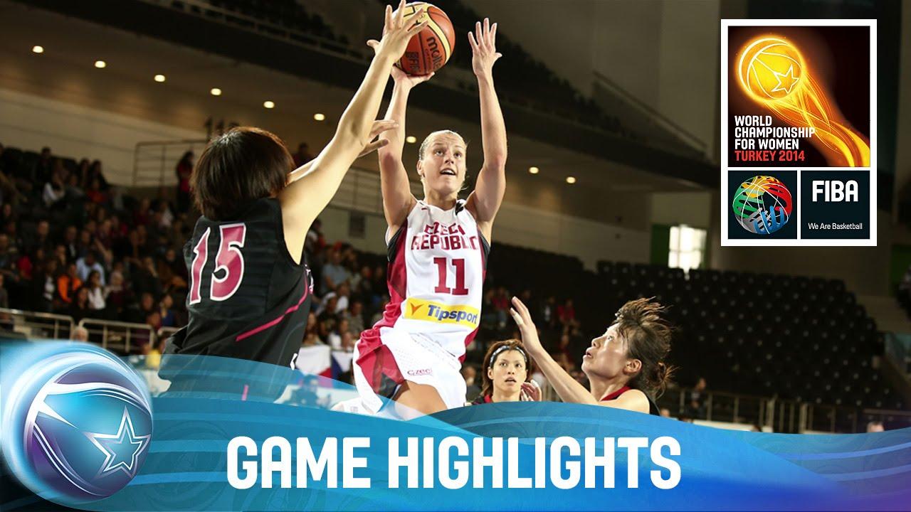 Czech Republic v Japan - Game Highlights - Group A - FIBA World Championship  for Women 2014 - FIBA.basketball 9f4d27c51f974