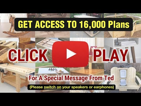Teds Woodworkin - 16,000 Woodworking Plans & Projects With Videos