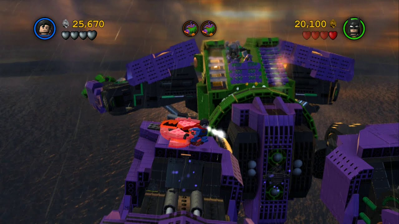 LEGO Batman 2 DC Super Heroes Walkthrough - Part 8 - Down ...