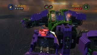 LEGO Batman 2 DC Super Heroes Walkthrough - Part 8 - Down to Earth (Wii U, Xbox 360, PS3)