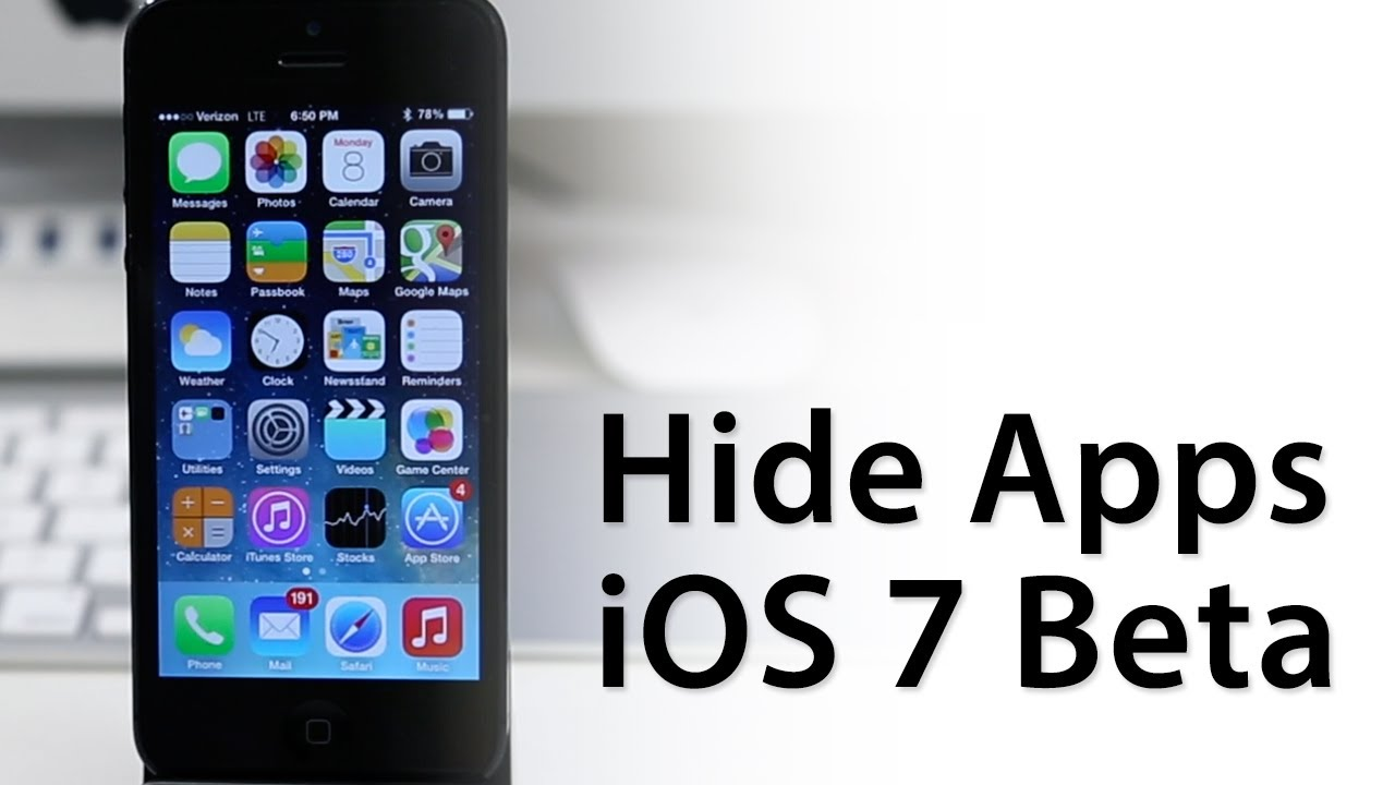 [iOS 7 Glitch] How To Hide Apps With iOS 7