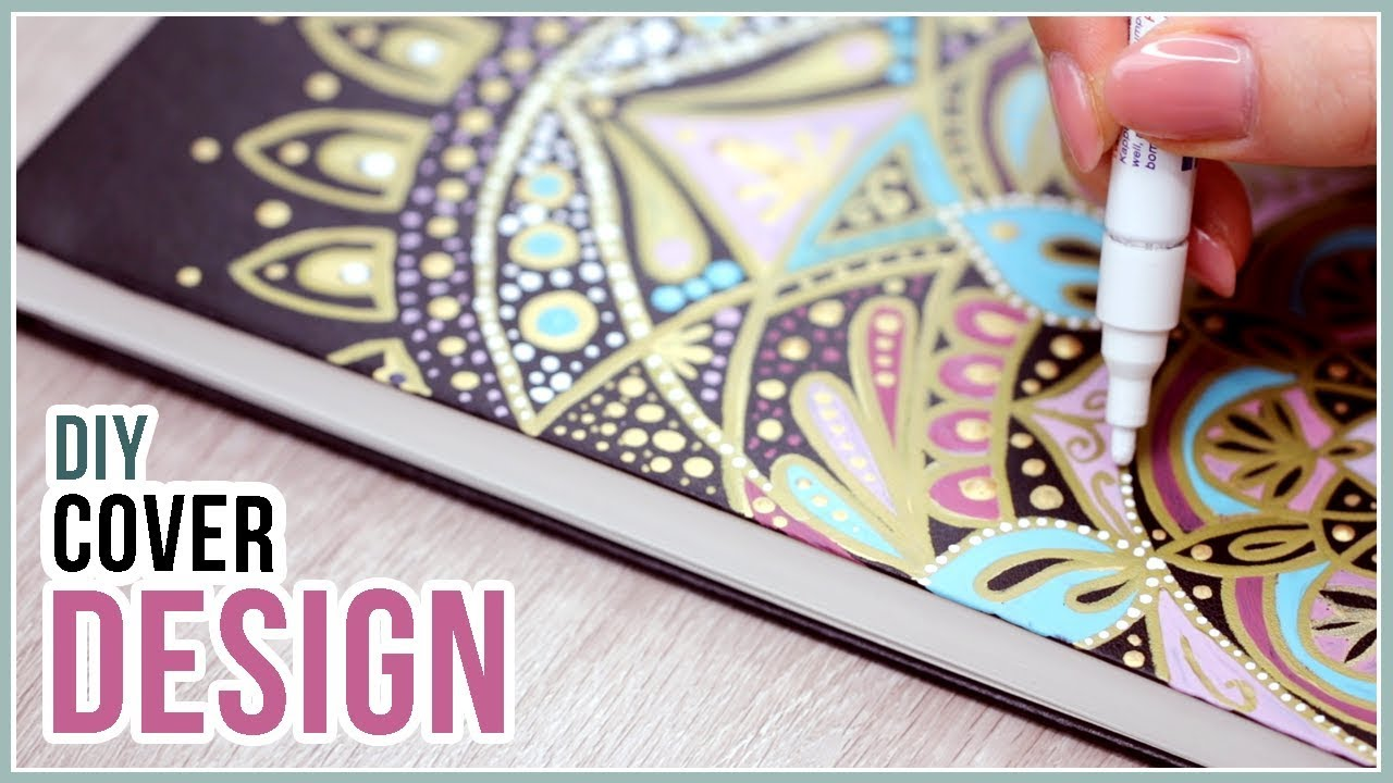 Diy Sketchbook Cover Design Idea Q A Youtube