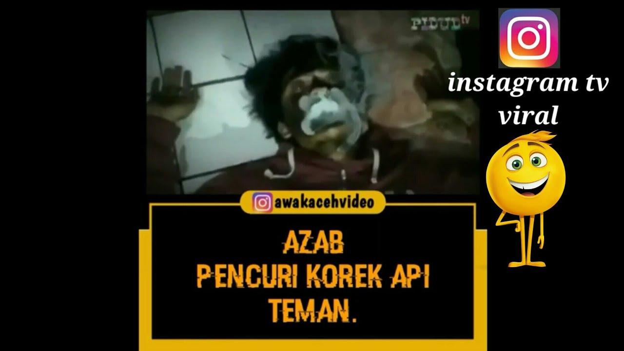 Download 7200 Gambar Lucu Azab Maling Korek Terupdate