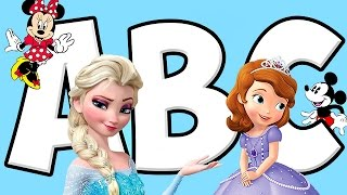 ABC Alphabet Song - Disney Frozen Music for Kids - Baby Learning Songs