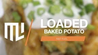 Fast Fuel For Better Exercise   Loaded Baked Potato