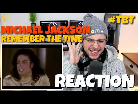 Michael Jackson - Remember The Time | #TBT | REACTION