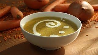 Чечевичный Суп-Пюре (Турецкая Кухня) / Turkish Lentil Soup Recipe / Mercimek Çorbası Tarifi