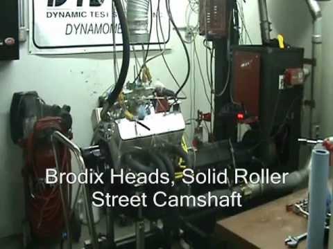 SB Chevy 406 Street Engine, 602 HP Dyno CNC-Motorsports