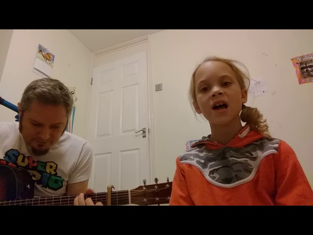 Lost boy cover, my daughter loves it