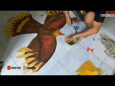 tutorial-membuat-layang-layang-burung---how-to-make-a-bird-kite