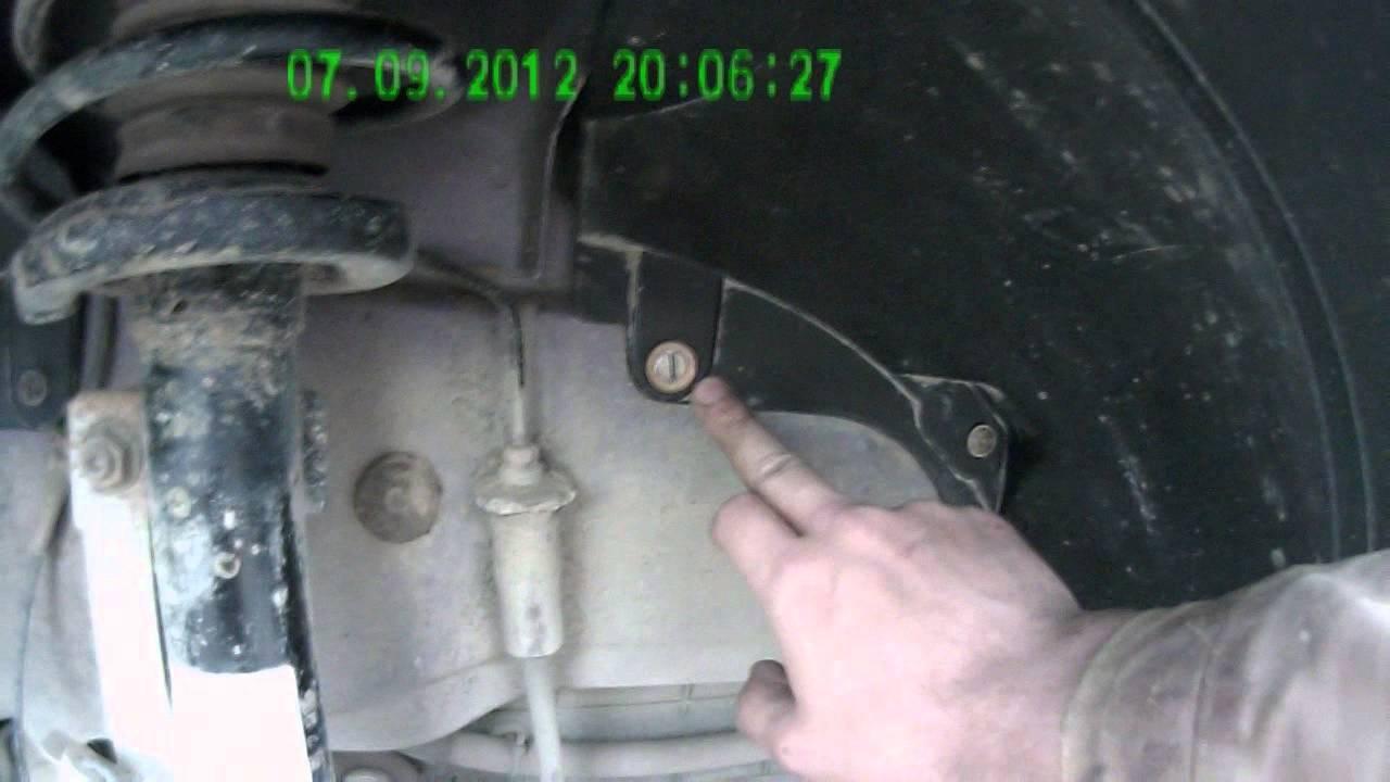 Снятие, установка защиты арок ford fusion