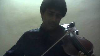 Written in the stars-Violin Cover-Aneesh VS
