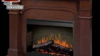 Dimplex Smp-195c-c-st Oxford Corner Indoor Electric Fireplace Package