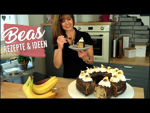 Schokoladen-Bananen Kranz Rezept | Schoko Kuchen Mit Bananen Backen