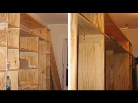 How to build a walk in closet youtube for How to build a walk in closet step by step