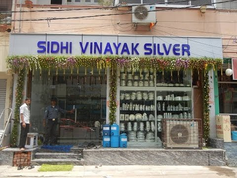 SIDHI VINAYAK SILVER  | Show Room | Special Discount Offers |   Pot Market |  Secunderabad .