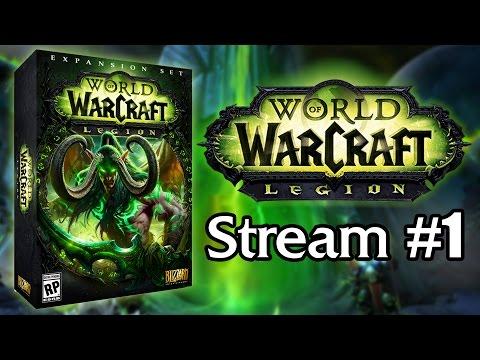 Live Stream Replay  | World Quests & Legacy Mount Farming [Legion] #1