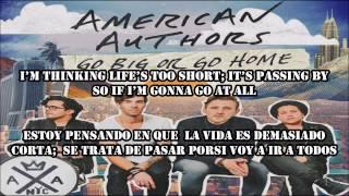 Go Big Or Go Home American Authors Español Ingles
