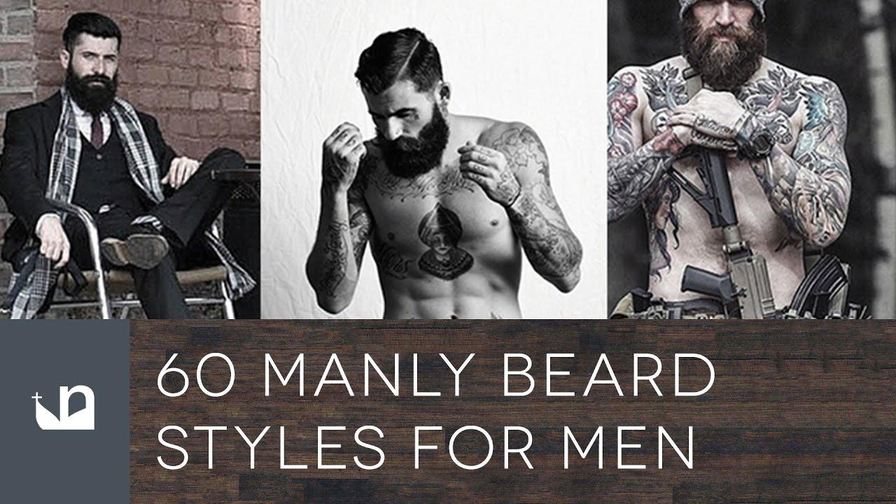 60 Manly Beards For Men Youtube