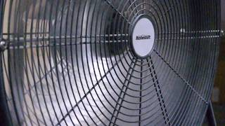 30 minutes of white noise from a fan