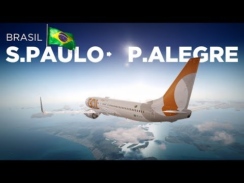 Prepar3Dv4 - B737-800 / Guarulhos → Porto Alegre