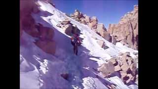 Winter climb of Mt. Whitney
