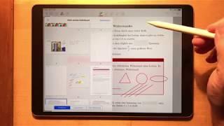 iPad in der Schule - GoodNotes 10 Löschen Kopieren und Verschieben von Seiten - Papierkorb