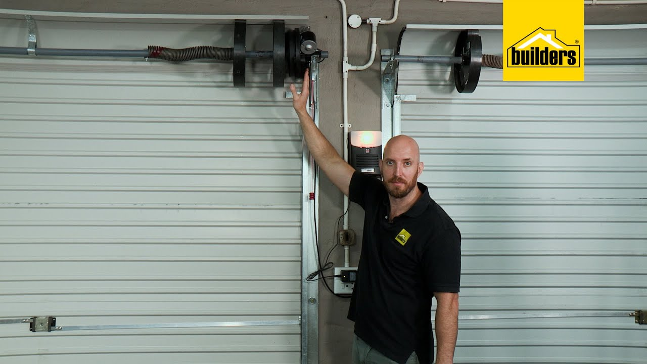 How To Automate A Roll Up Garage Door Youtube