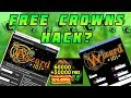 Trying **FREE CROWN HACKS** (Wizard101)