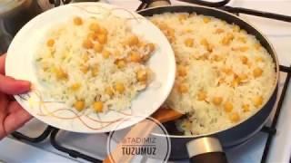 Nohutlu Pirinç Pilavı Tarifi | Tadimiz Tuzumuz