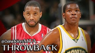 Tracy McGrady vs Kevin Durant Full Highlights 2008.01.23 - CLUTCH T-Mac vs Rookie KD!