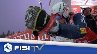 Federica Brignone sul podio in Svezia