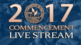 SUNY Canton's 109th Commencement Ceremony