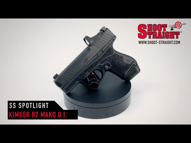 Kimber R7 Mako Optic Installed 9mm - Shoot Straight Spotlight
