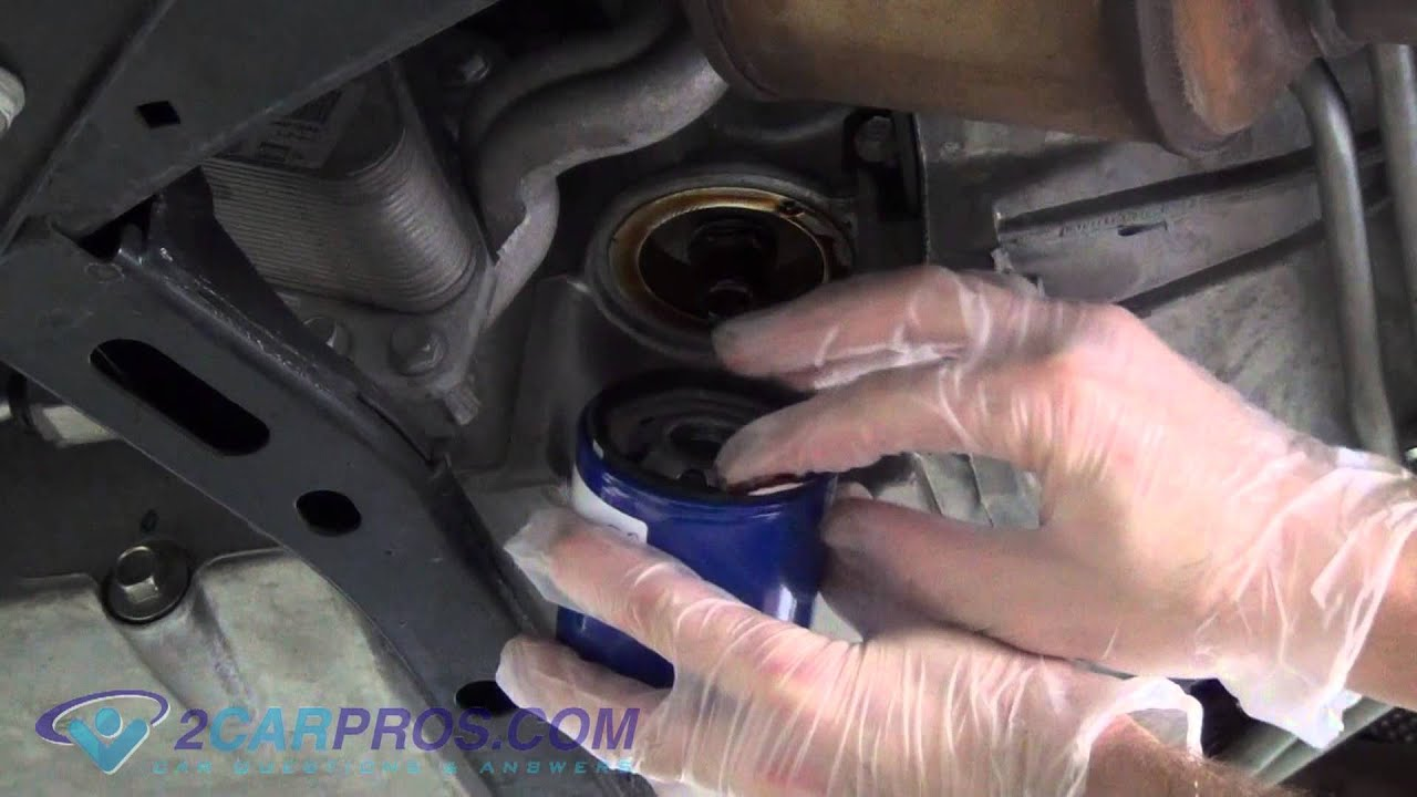 Oil Change & Filter Replacement Chevrolet Camaro 2010-2015 ...