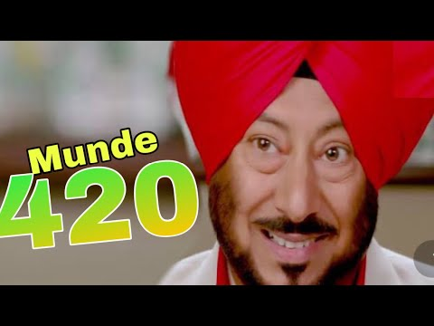 Download Munde 420 (2020) Jaswinder Bhalla Most Popular Punjabi Movie 2020 | Latest Punjabi Movie 2020