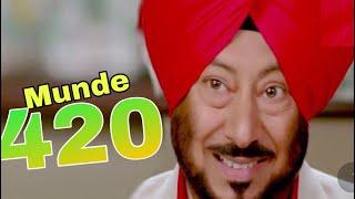 Munde 420 (2020) Jaswinder Bhalla Most Popular Punjabi Movie 2020 | Latest Punjabi Movie 2020