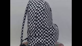 mosquito Gallina Oh  Vans mochila cuadros backpack 100% original - YouTube