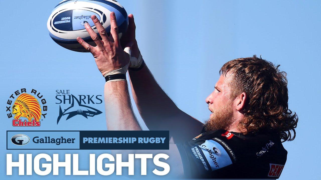 Exeter v Sale - HIGHLIGHTS   Thrilling comeback sinks Sale!   Gallagher Premiership - Premiership Rugby