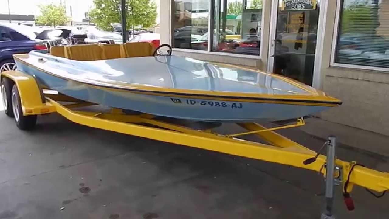 1979 Challenger Jet Boat Big Block Youtube