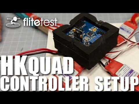 Flite Test - HK Quad Controller Setup - FLITE TIP - YouTube