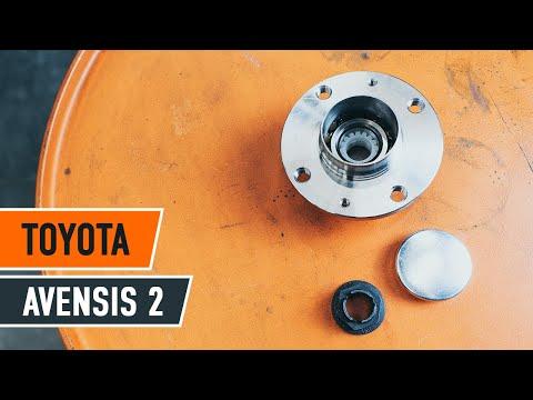 Wie Toyota Avensis 2 T25 Radlager Hinten Wechseln Tutorial