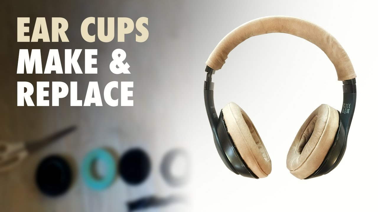 How To Replace Beats Studio Ear Pads Diy Leather Headphone Ear Cups